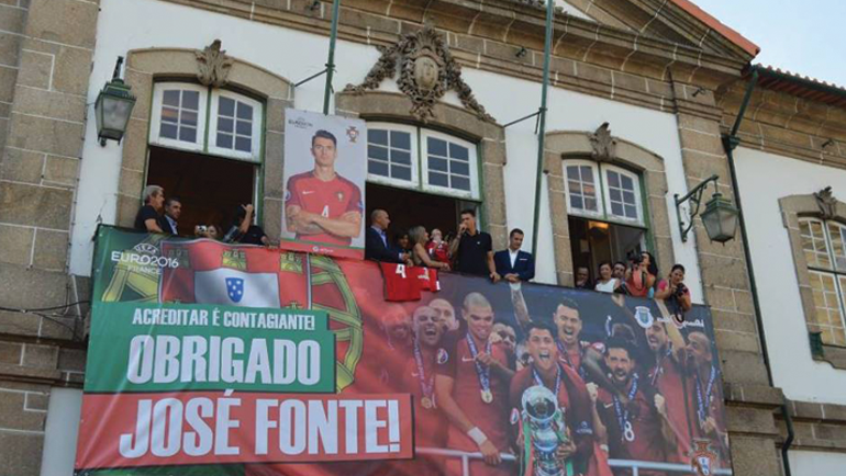 Câmara de Penafiel recebeu em festa José Fonte