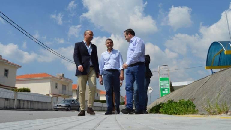 Executiva da Câmara Municipal de Penafiel visitou obras na freguesia de Fonte Arcada