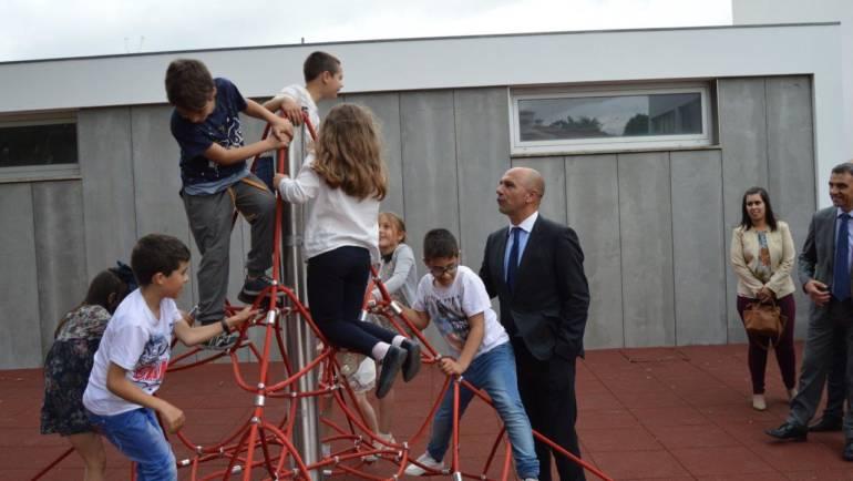 Rio de Moinhos inaugura requalificações da Escola Básica e novo Espaço de Lazer