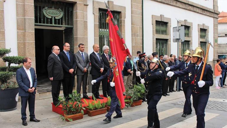 Presidente da Câmara Condecorado pela Liga Nacional dos Bombeiros Portugueses