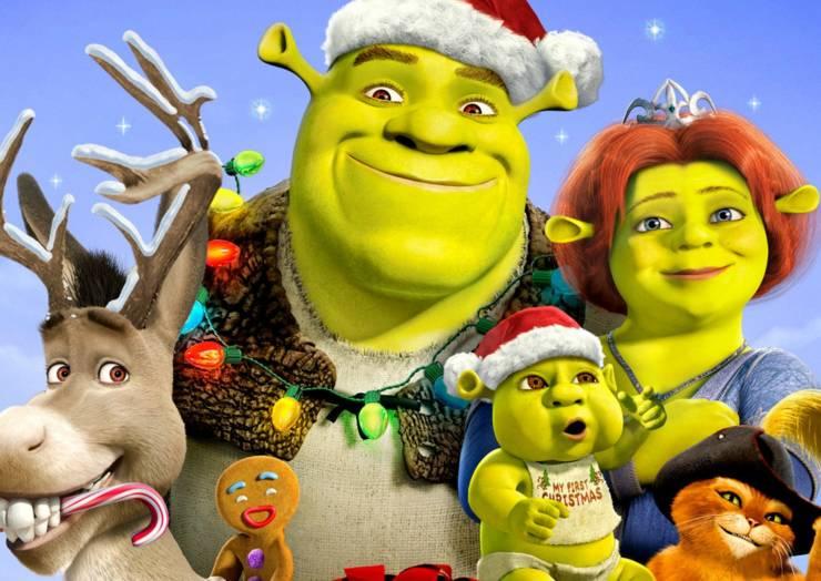 """Cinema de Animação """"A Todos Um Shrek Natal"""""""