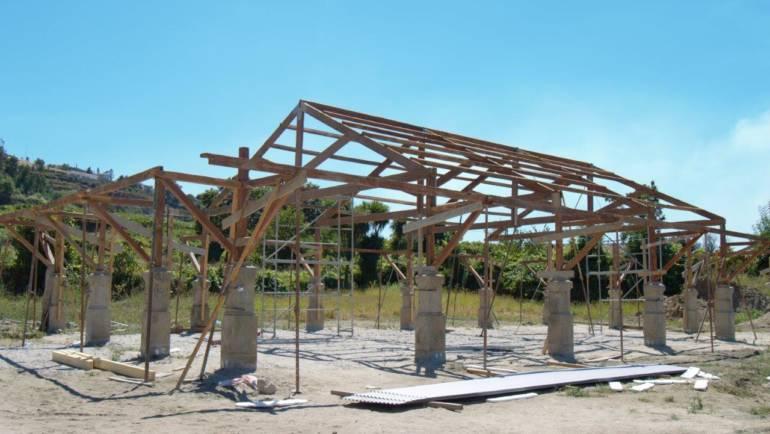 Câmara Municipal de Penafiel Está a Recuperar Estrutura do Antigo Mercado da Alegria