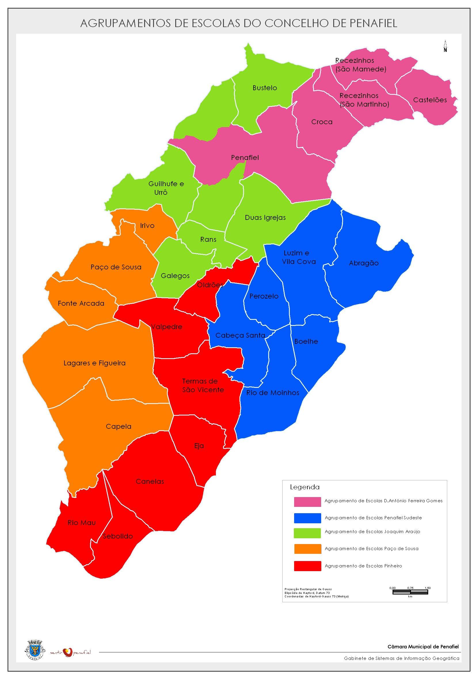 mapa de penafiel com as freguesias Penafiel Mapa   thujamassages mapa de penafiel com as freguesias