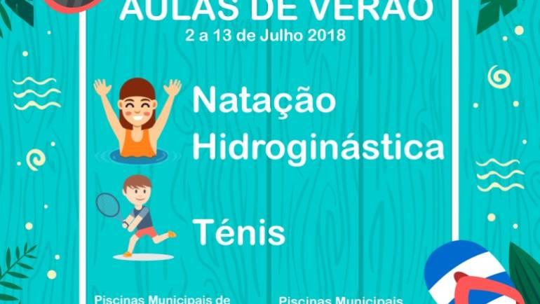 PISCINAS MUNICIPAIS DO CONCELHO VÃO ACOLHER AULAS DE VERÃO