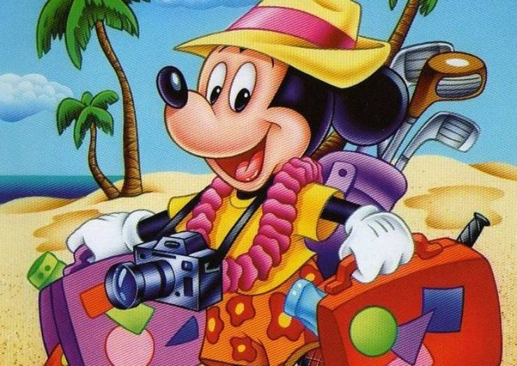 """Cinema de Animação """"O Verão Louco do Mickey"""""""