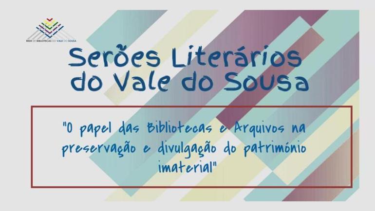 SERÕES LITERÁRIOS DO VALE DO SOUSA