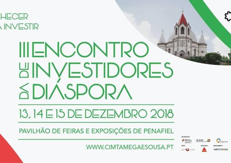 PENAFIEL ACOLHE III ENCONTRO DE INVESTIDORES DA DIÁSPORA