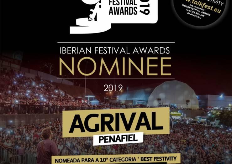 """AGRIVAL ESTÁ NOMEADA PARA OS """"IBERIAN FESTIVAL AWARDS 2019"""""""