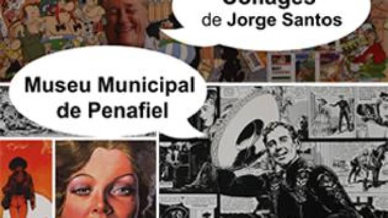 """EXPOSIÇÃO """"COLLAGES"""", DE JORGE SANTOS"""