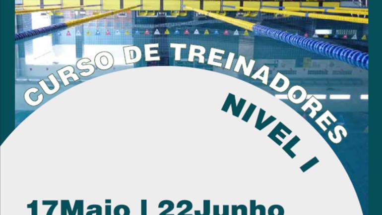 CURSO DE GRAU I DE TREINADORES/MONITORES DE NATAÇÃO