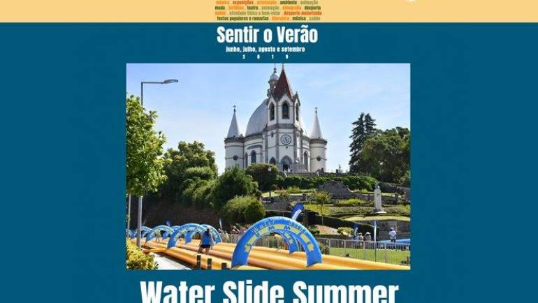 """WATER SLIDE SUMMER"" E ""NOITE BRANCA"" ANIMAM FIM DE SEMANA"