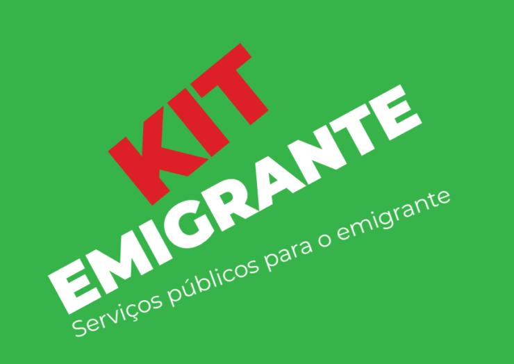 KIT EMIGRANTE   SERVIÇOS PÚBLICOS PARA O EMIGRANTE
