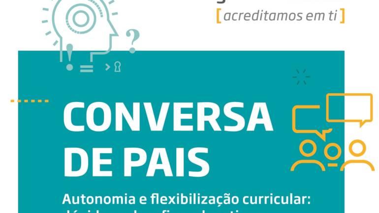 """NOVO CICLO DE """"CONVERSAS DE PAIS"""" JÁ TEM SESSÕES AGENDADAS"""