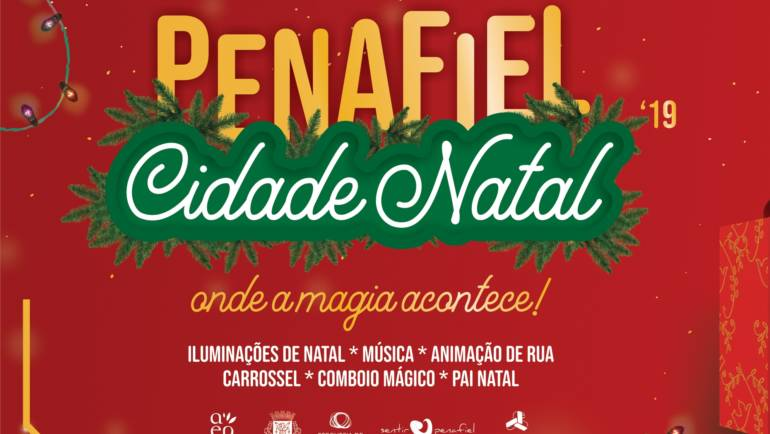PENAFIEL CIDADE NATAL INAUGURA PROGRAMA FESTIVO