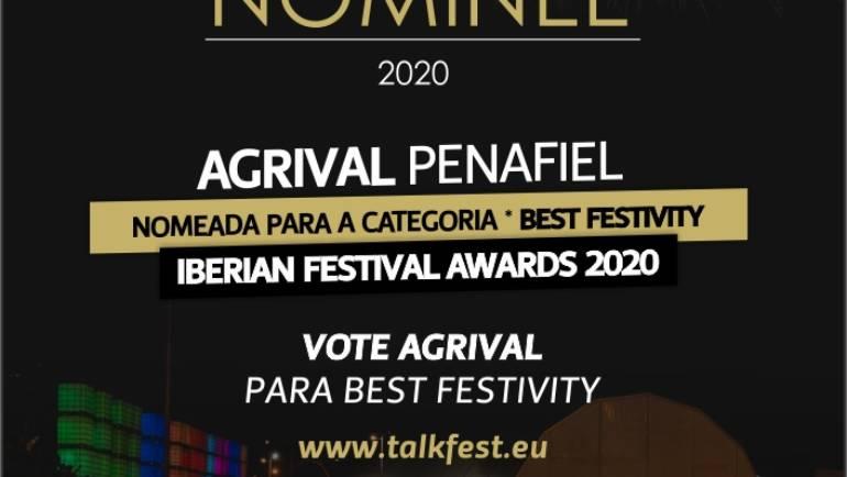 "AGRIVAL NOMEADA PARA OS ""IBERIAN FESTIVAL AWARDS 2020"""