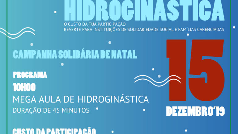 "MUNICÍPIO DE PENAFIEL DINAMIZA ""MEGA AULA DE HIDROGINÁSTICA"" SOLIDÁRIA"
