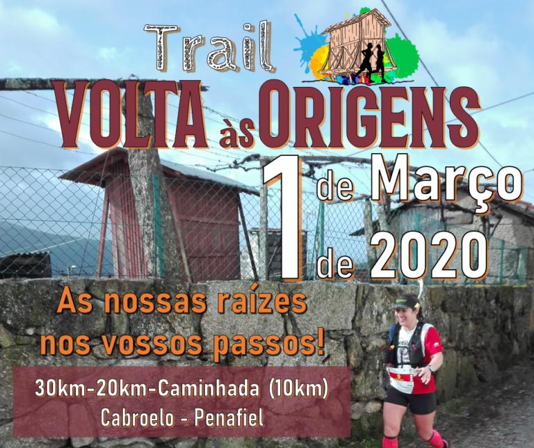 """1.ª edição do Trail """"Volta às Origens"""""""