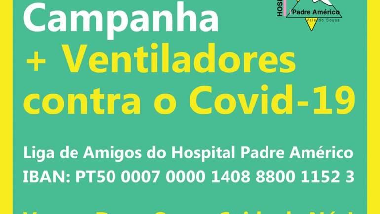LIGA DOS AMIGOS DO HOSPITAL PADRE AMÉRICO COM CAMPANHA PARA ADQUIRIR VENTILADORES