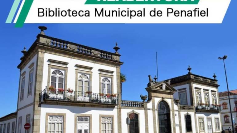 BIBLIOTECA MUNICIPAL DE PENAFIEL REABERTA AO PÚBLICO