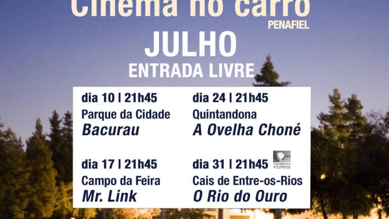 CÂMARA DE PENAFIEL ORGANIZA 4 SESSÕES DE CINEMA PARA VER DENTRO DO CARRO E AO AR LIVRE