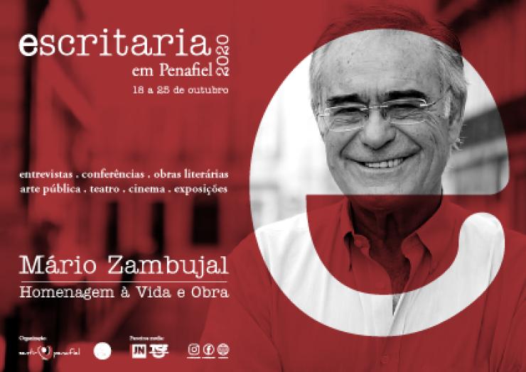 ESCRITARIA 2020 – MÁRIO ZAMBUJAL   HOMENAGEM À VIDA E OBRA