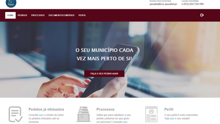 MUNICÍPIO DE PENAFIEL JÁ TEM PLATAFORMA DE ATENDIMENTO ONLINE