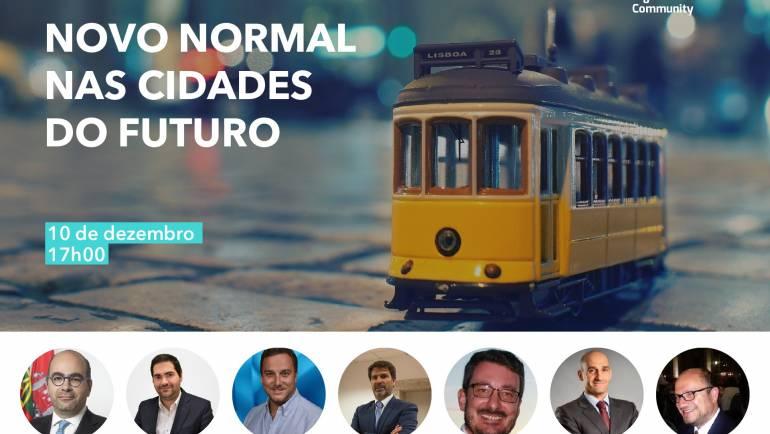 """PENAFIEL, CASCAIS E OEIRAS VÃO DEBATER """"NOVO NORMAL NAS CIDADES DO FUTURO"""" EM WEBINAR"""