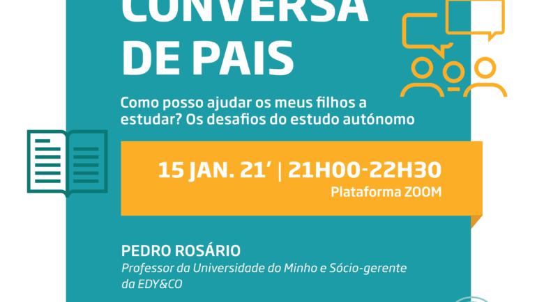 CÂMARA MUNICIPAL PROMOVE NOVO CICLO DE CONVERSAS DE PAIS