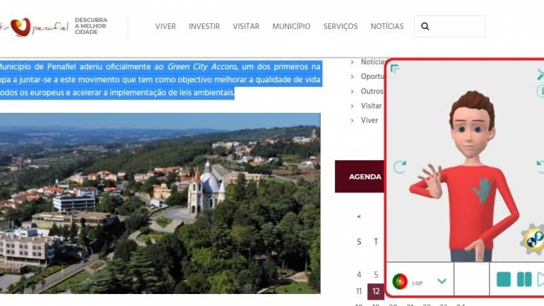 WEBSITE MAIS ACESSÍVEL E INCLUSIVO COM LÍNGUA GESTUAL E CONVERSOR DE TEXTO EM VOZ